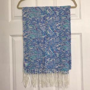 Lilly Pulitzer Murfee scarf Kappa Kappa Gamma